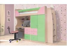 """Детская Кровать """"BED ROOM 5"""" + стол"""
